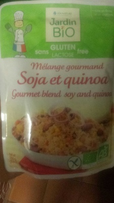 Mélange Gourmand Soja Et Quinoa Bio - Produit
