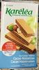 Gauffrettes cacao noisettes - Produit