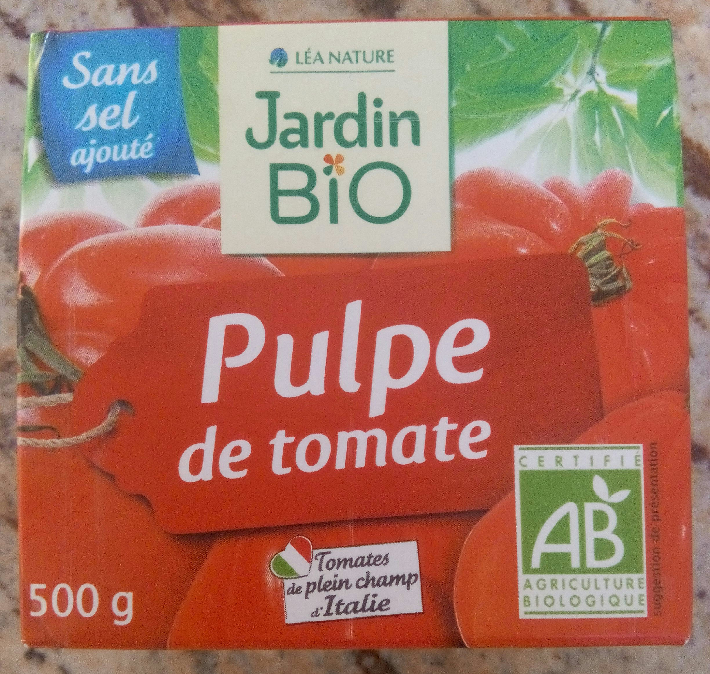 Pulpe de tomate bio - Product