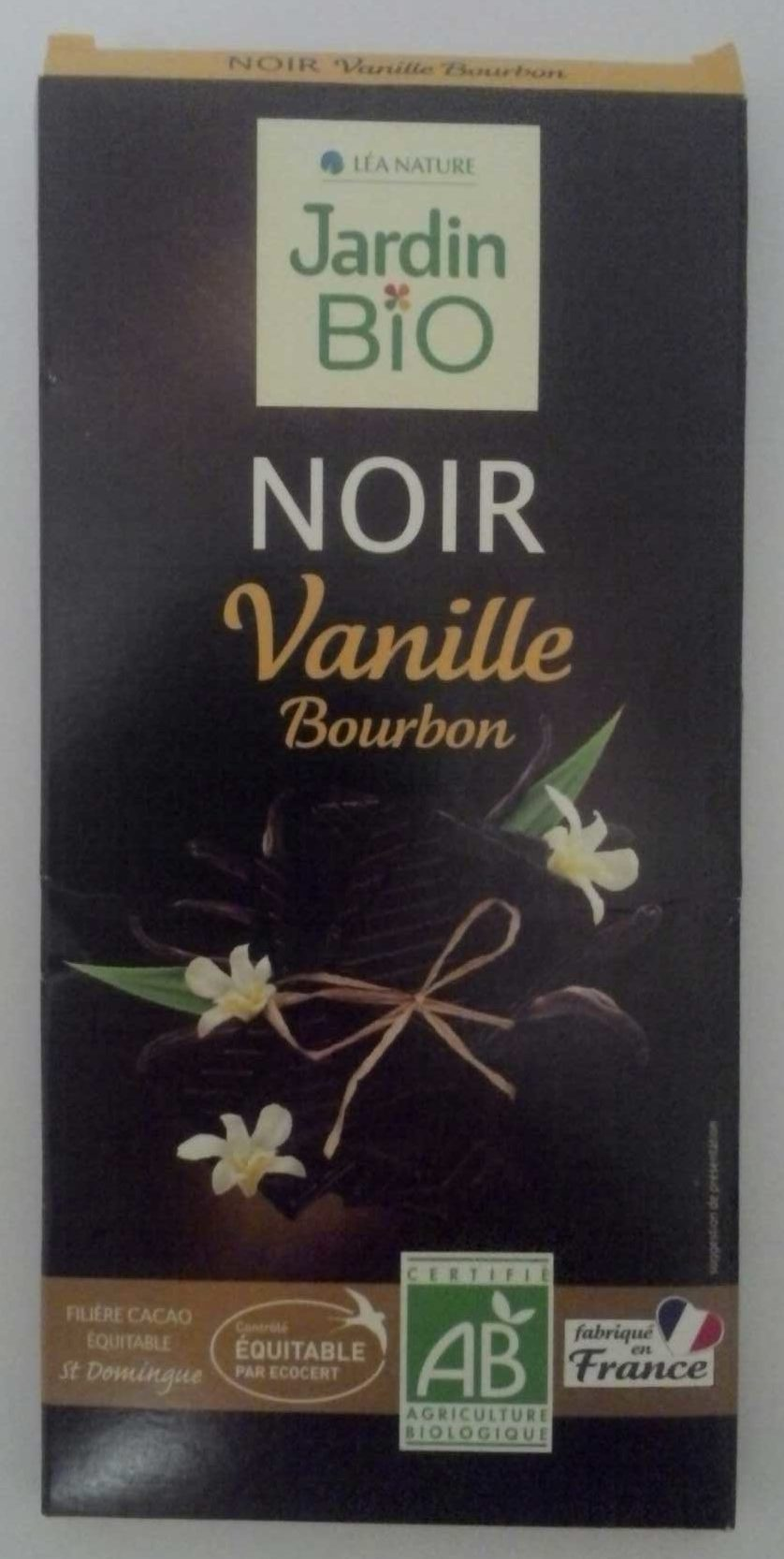 Chocolat Noir Vanille Bourbon - Product