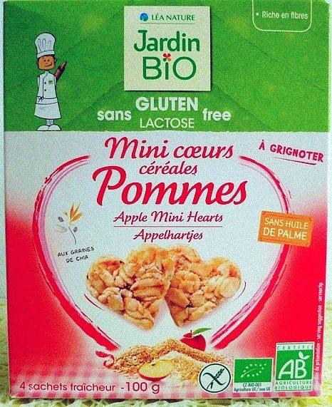 Mini Coeurs Céréales Pommes - Produit
