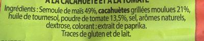 Snack Goût Tomates - Ingredients
