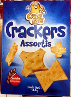 Crackers assortis - Product - fr