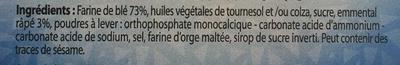Crackers assortis - Ingrediënten - fr