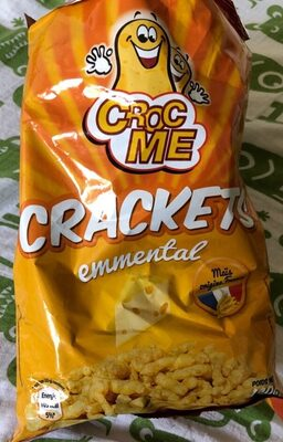 Crackets Emmental - Product