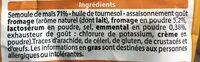 CRACKETS emmental - Ingrediënten - fr