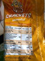 CRACKETS emmental - Voedingswaarden - fr