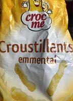 Croustillants emmental - Product - fr
