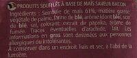 Soufflés gout Bacon - Ingredients
