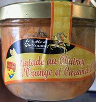 Pintade au Chutney d'Orange et Caramel d'Ail - Product