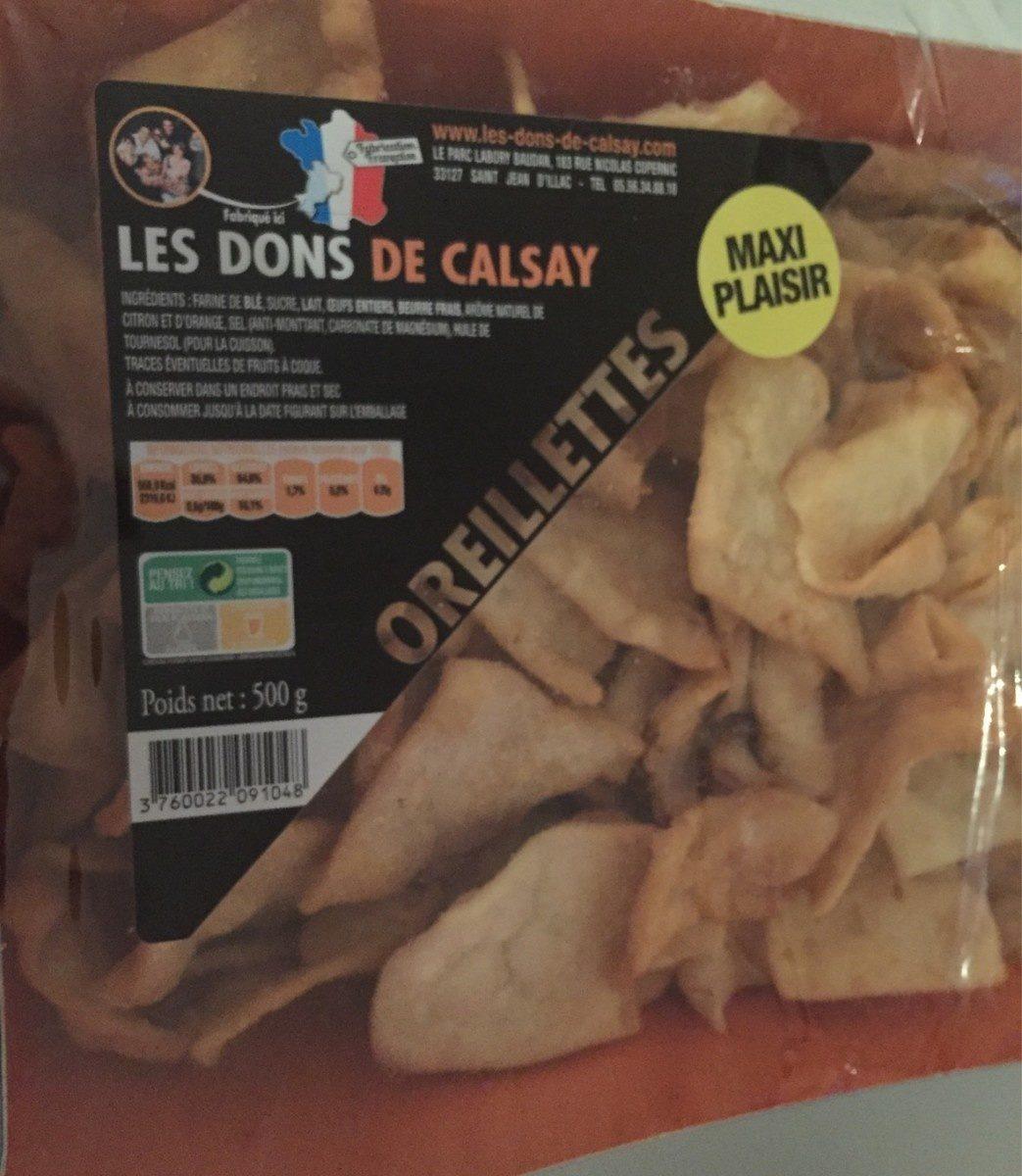 Oreillettes - Product