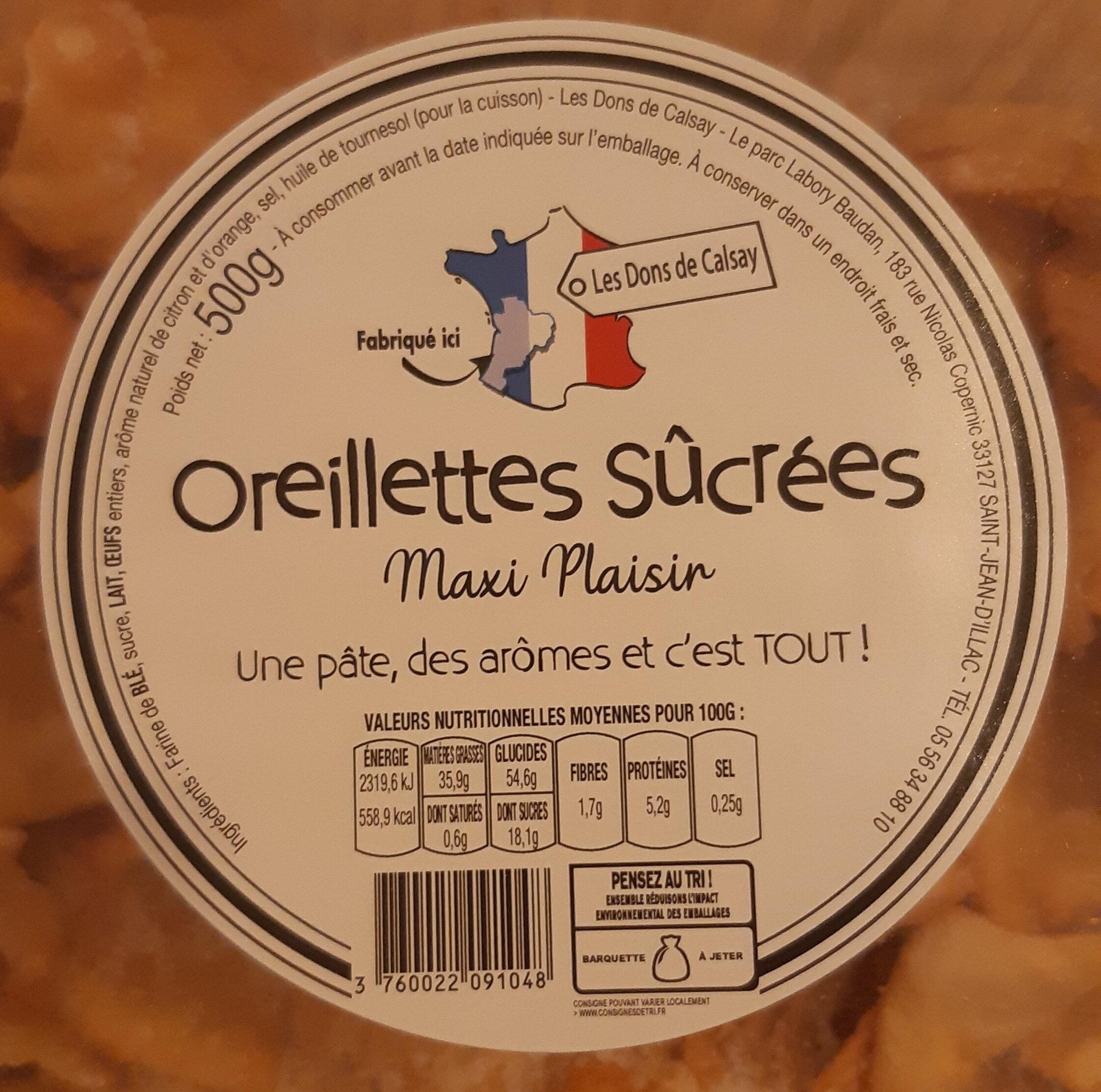 Oreillettes - Ingrediënten