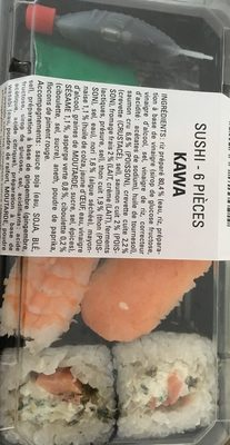 Sushi 6 pieces - Product