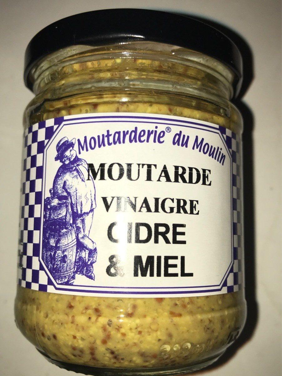 Moutarde vinaigre cidre et miel - Produit