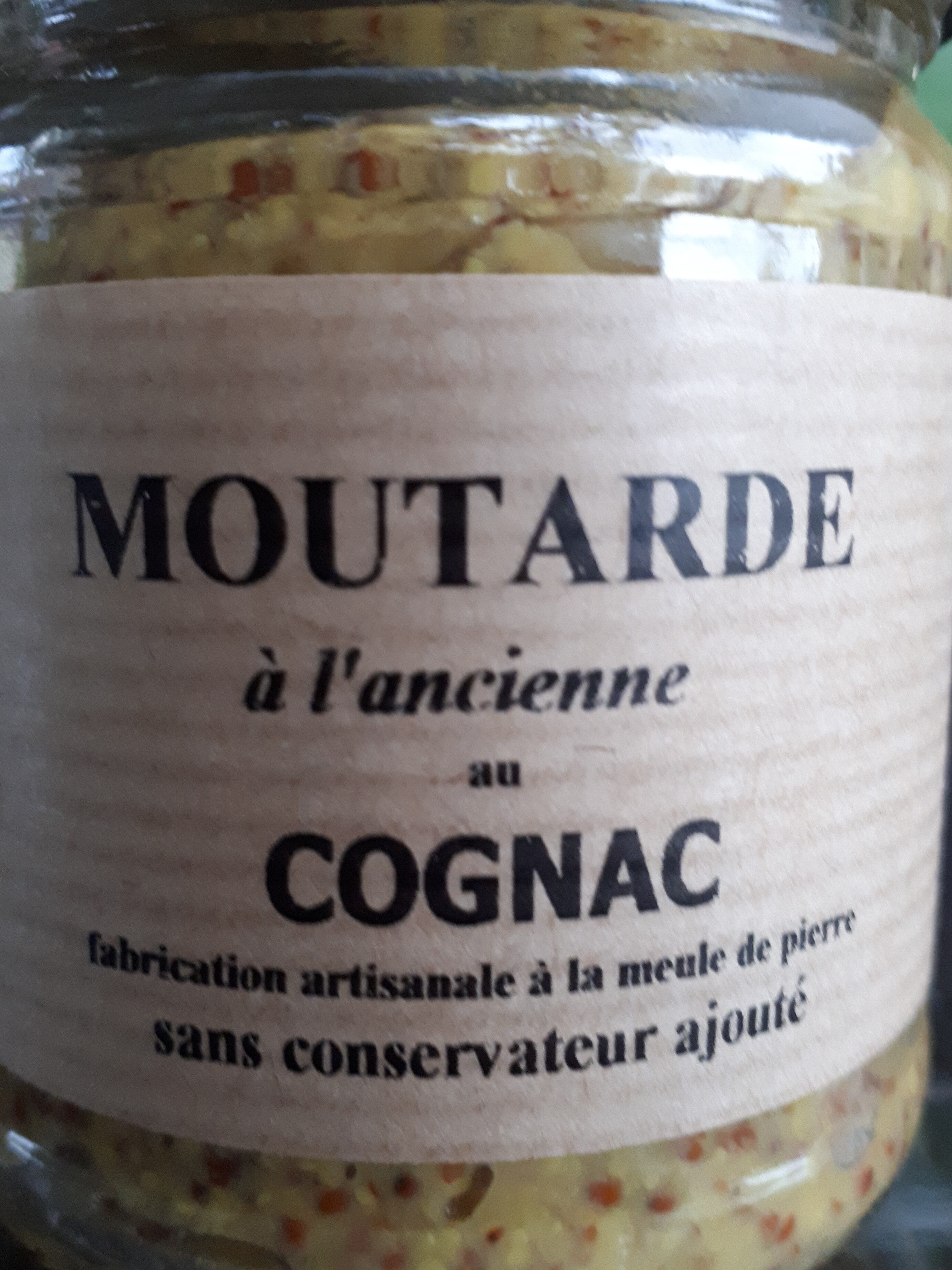 moutarde à l'ancienne au cognac - Product - fr