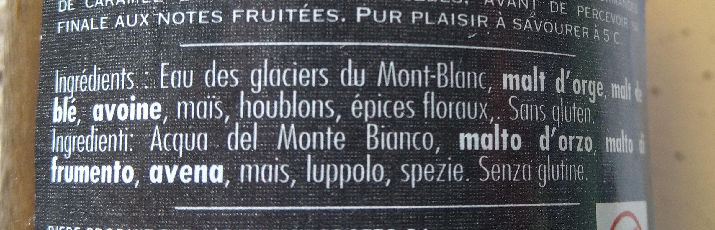 La Rousse - Ingredienti - fr