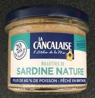Rillettes de sardine nature - Produit