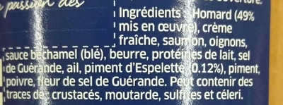 Rillettes de Homard au piment d'Espelette - Ingredients