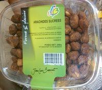 Arachides sucrees - Produit