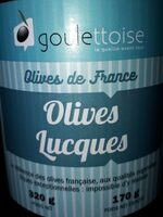 Olives Lucques - Product