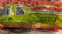 Betteraves rouges cuites sous vide - Ingrédients - fr