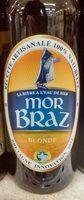 Mor Braz Blonde (4.5%) Brasserie Mor Braz 75 CL - Product