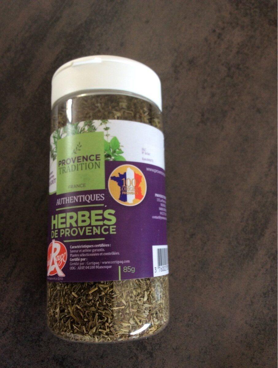 Herbes de Provence - Voedingswaarden - fr
