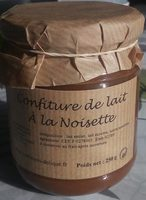 Confiture de lait à la noisette - Product - fr
