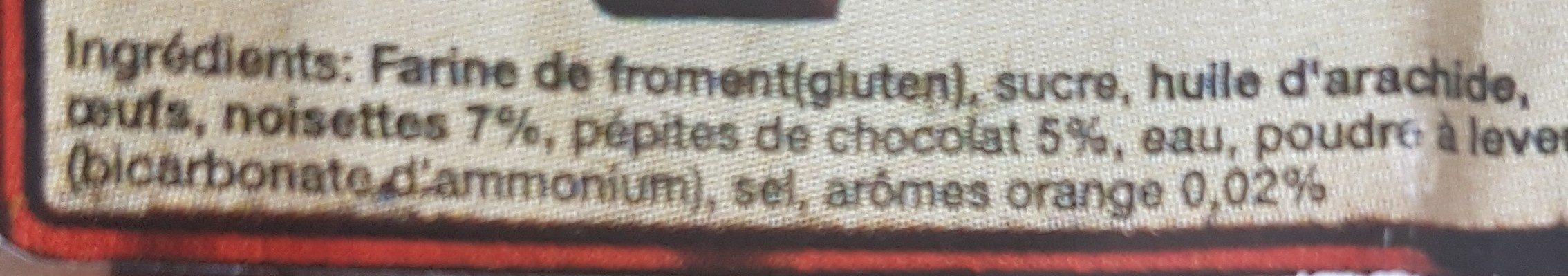 Canistrelli noix de coco - Ingrédients