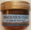 Terrine de foie de volaille au vin de Banyuls - Product