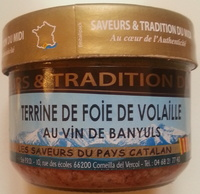 Terrine de foie de volaille au vin de Banyuls - Produit