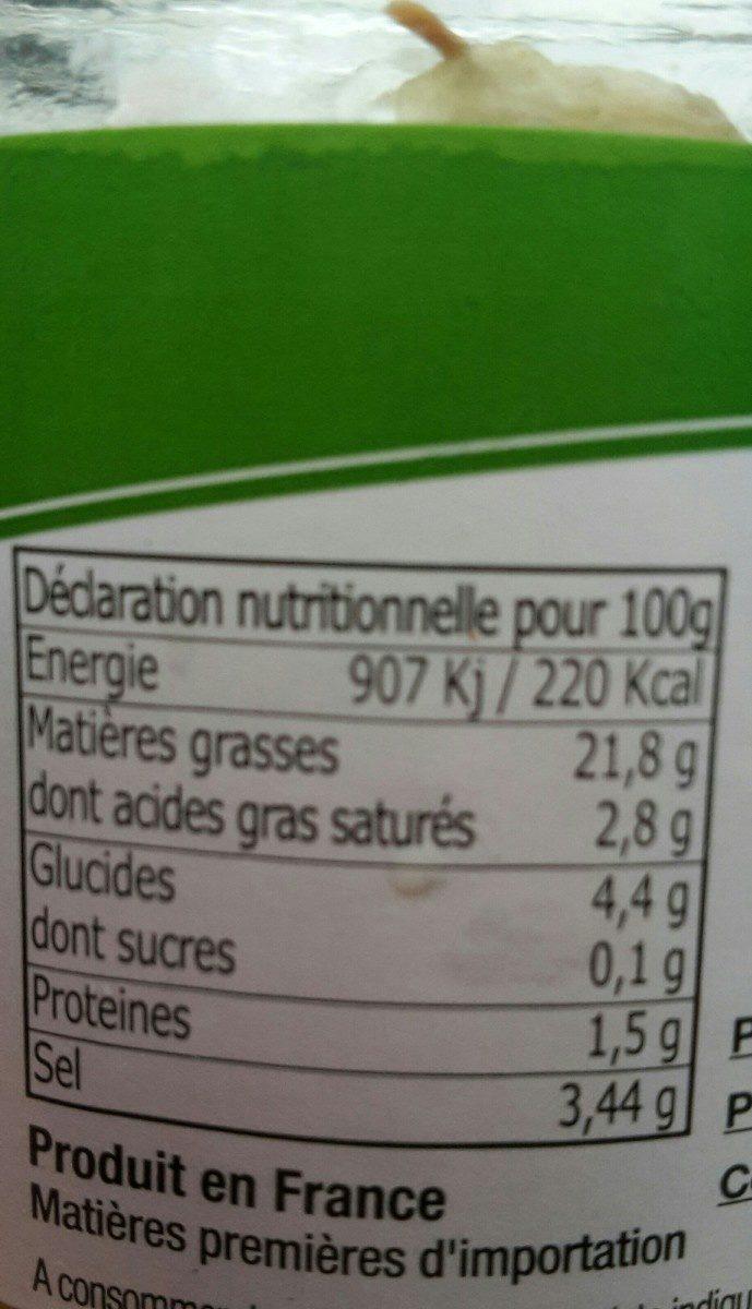 Olives vertes - Ingrédients - fr