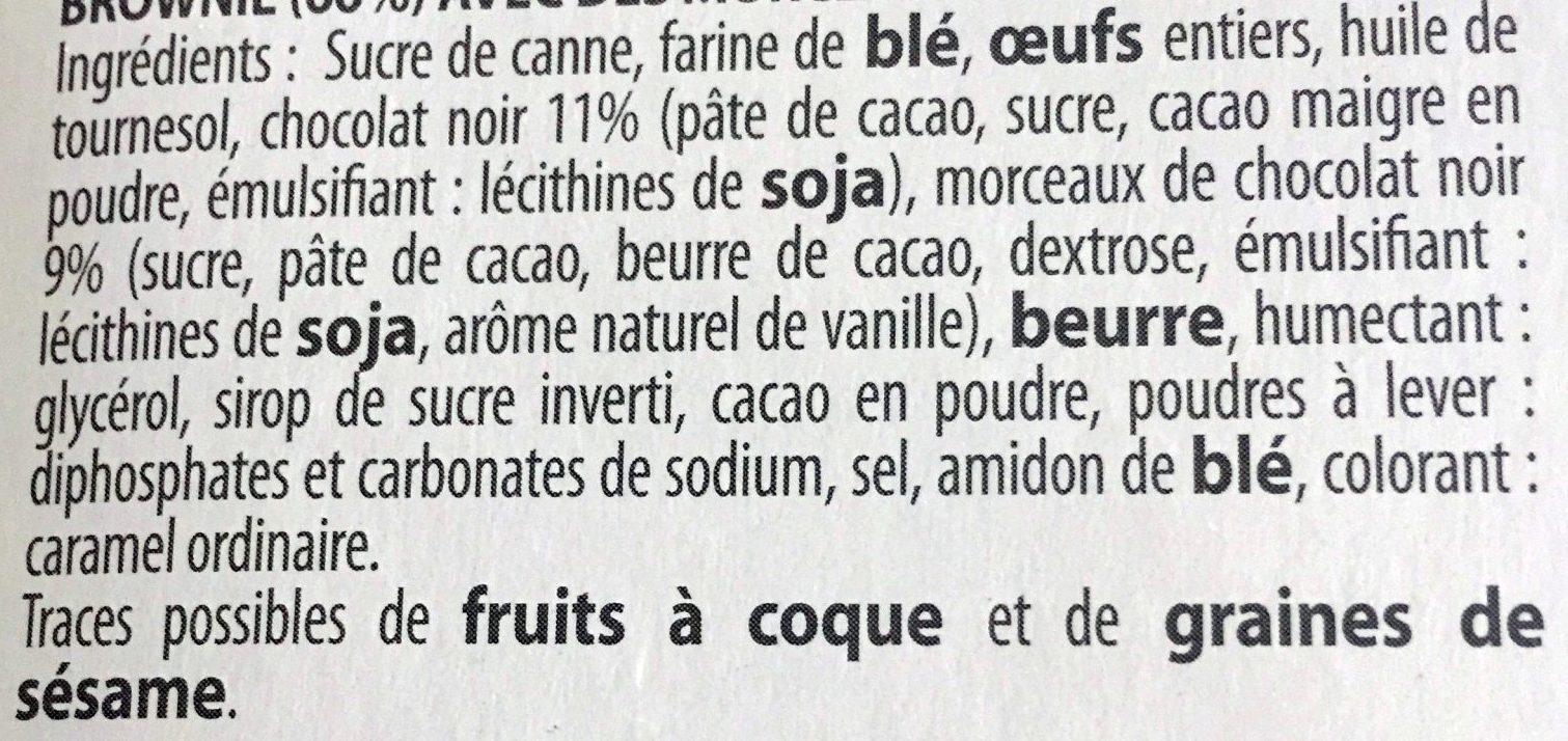 Le Brookie au Chocolat - Ingrediënten