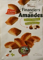 Mini financiers aux amandes - Product - fr