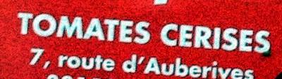 Tomates cerises - Ingredients - fr
