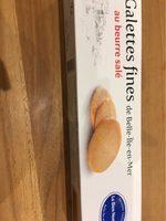 Galettes fines au beurre salé - Produit