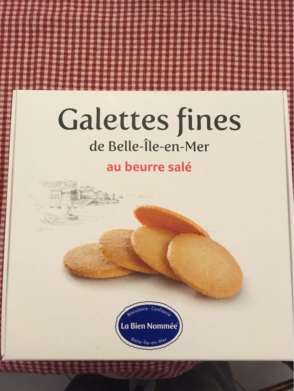 Galettes fines au beurre salé - Product - fr