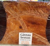 Gâteau Breton de Belle-Île-en-Mer à la Crème de Caramel - Produit