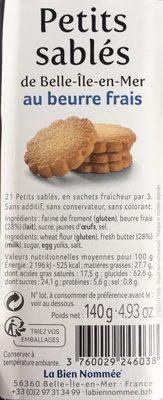 Petits Sablés - Produit - fr