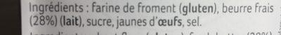 Petits Sablés - Ingrédients - fr