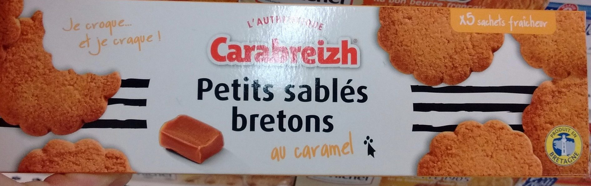 Petits Sablés Bretons au Caramel - Product