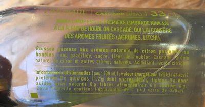 Limop - Ingrédients