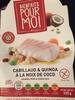 Bienfaits pour moi - Cabillaud & quinoa à la noix de coco - Producto