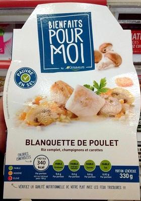 Blanquette de Poulet - Produit