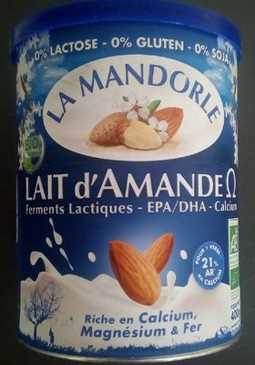 Lait d'Amande Omega - Produit - fr