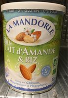 Lait d'Amande et Riz - Produit