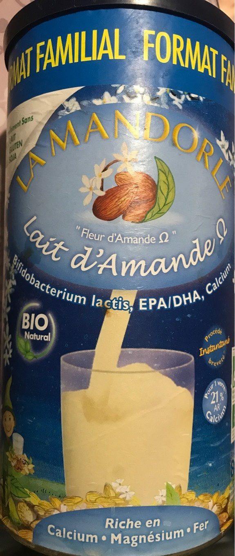 Lait D'amande Omega En Poudre Bio - 800 G - La Mandorle - Produit