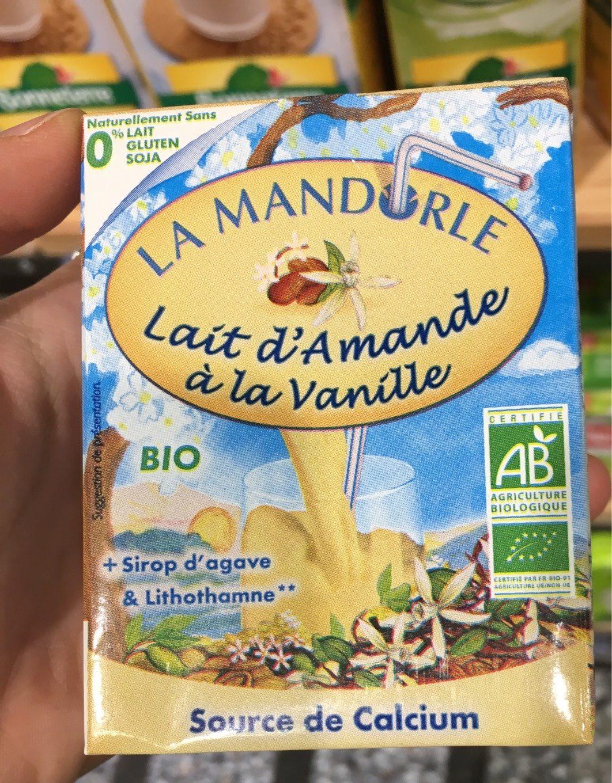 Lai d'amande à la vanille - Product