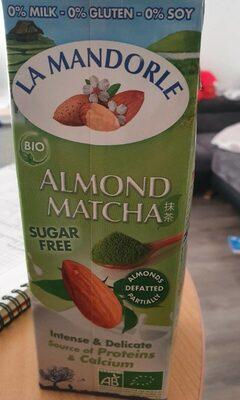 Almond Matcha - Product - fr