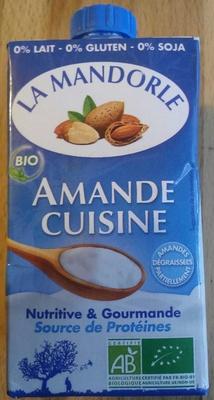 Amande Cuisine - Produit